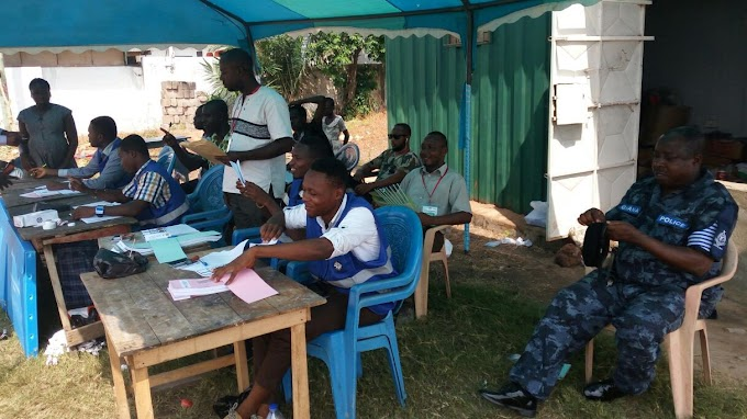 #Ghanaelections: Man dies shortly after voting