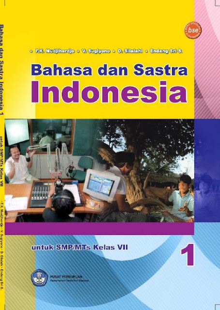 Download Buku Siswa KTSP SMP dan MTs Kelas 7 Bahasa dan Sastra Indonesia