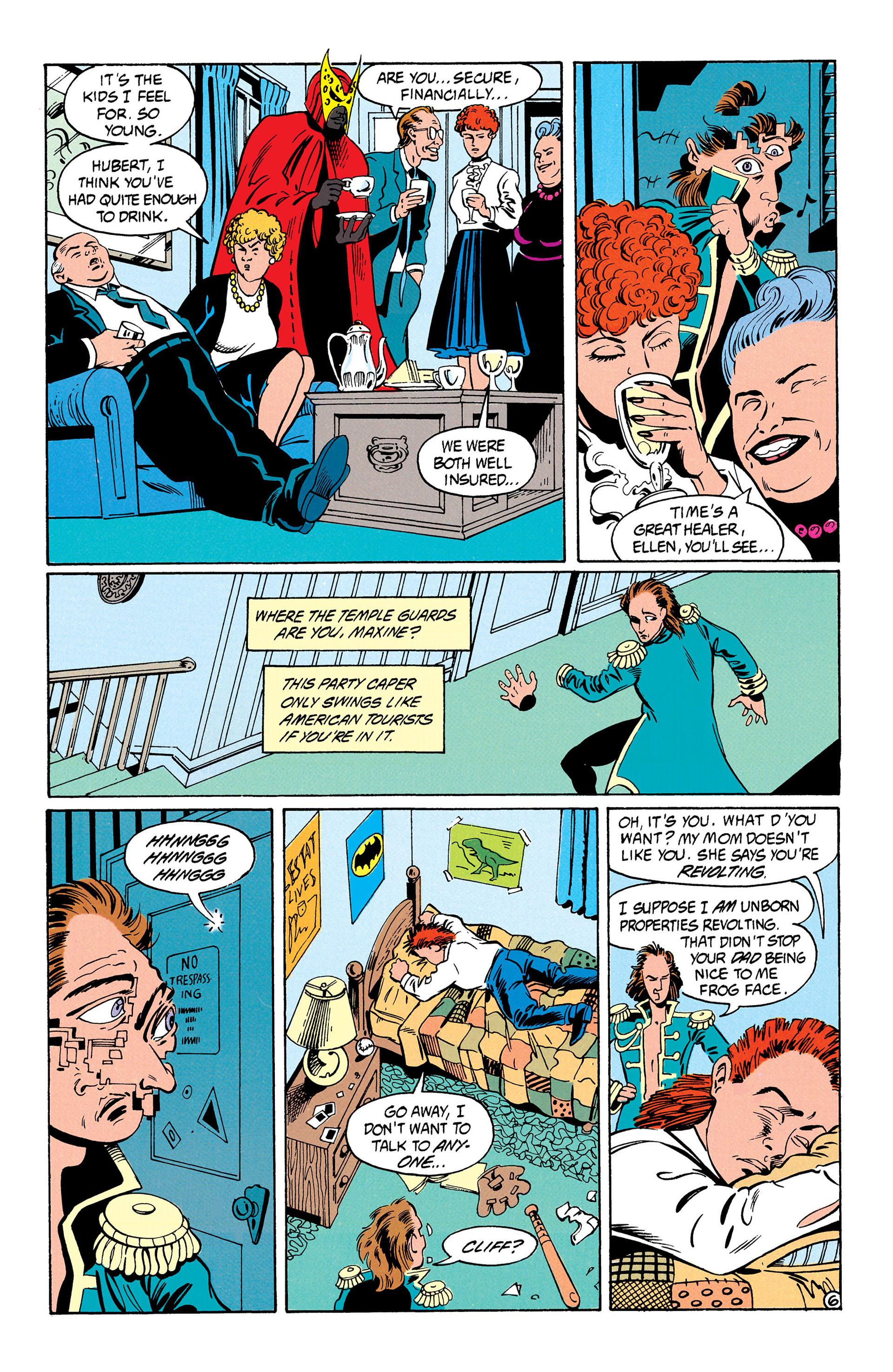 Read online Animal Man (1988) comic -  Issue #31 - 7