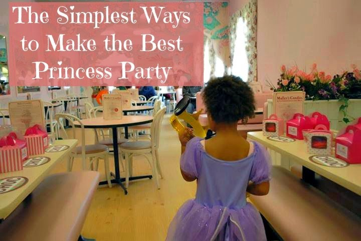 More princess party ideas - ineedaplaydate.com