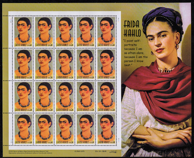 Frida Kahlo US minisheet