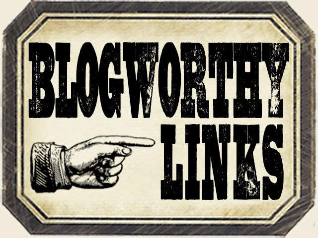 SO HONOURED TO RECEIVE MY 3rd BLOGWORTHY LINK IN APRIL 2014