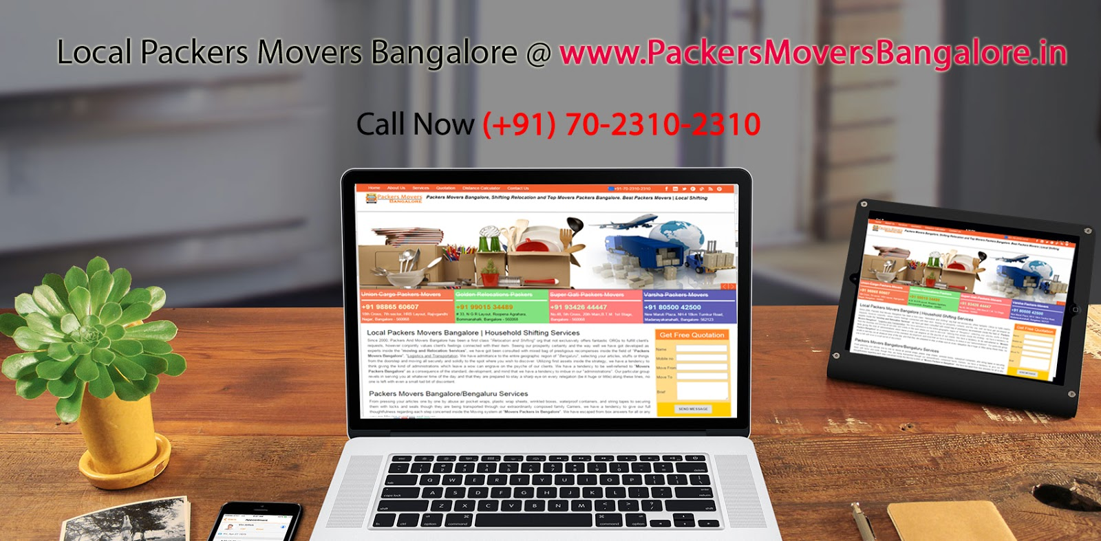 Packers Movers Bangalore | Household Shifting | Local Shifting
