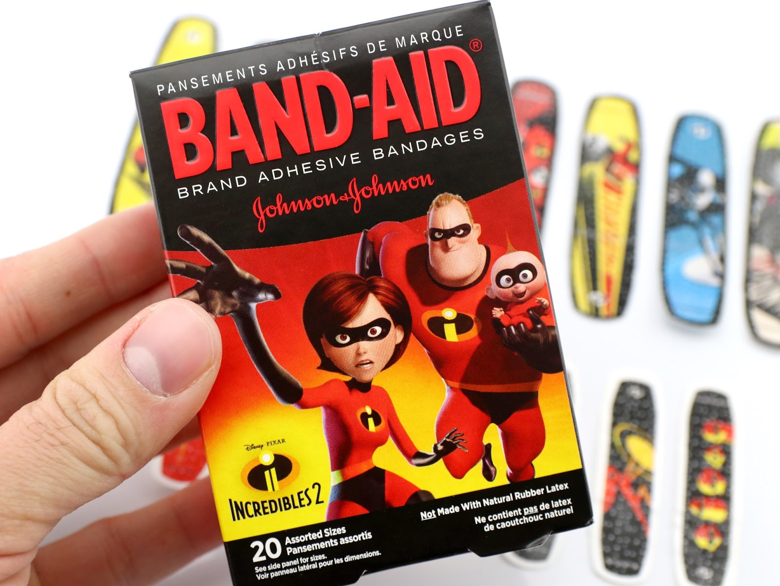 pixar incredibles 2 band-aids