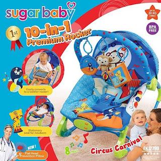 Sugar Baby 10in1 Premium Rocker Circus Carnival