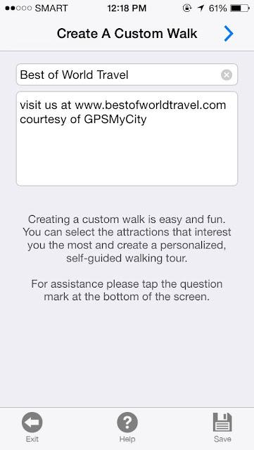 Best of world travel app
