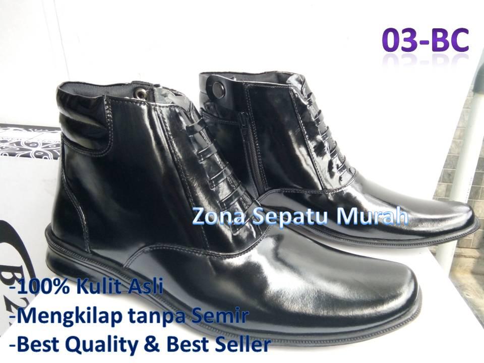 Bahan   Kulit Sapi BC Warna   Hitam Mengkilap Model   Resleting Aktif    Tali variasi. Size   39 - 45. Status   Ready stok. Harga eceran    210.000 pasang 6f9e6db130