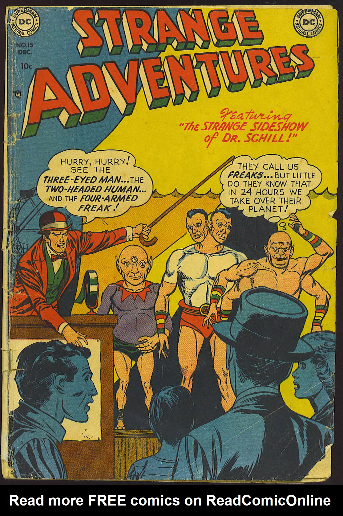 Strange Adventures (1950) issue 15 - Page 1