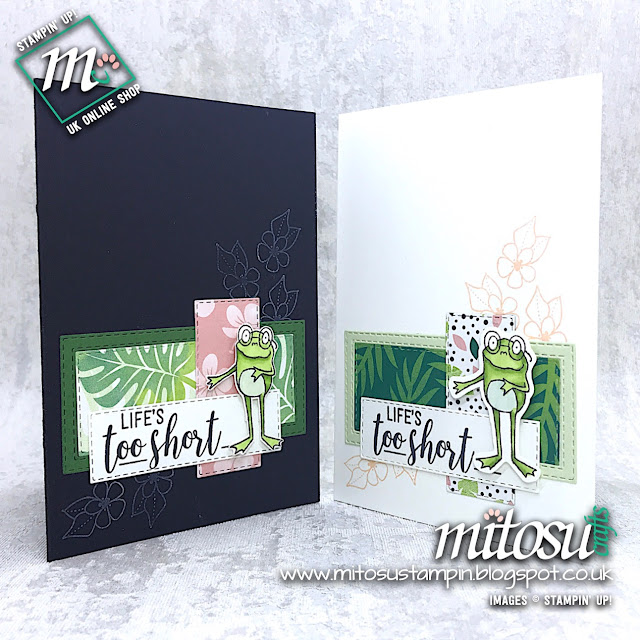 Stampin' Up! So Hoppy Together, Amazing Life & Rectangle Stitched Spinner Pop Up Card. Order papercraft products from Mitosu Crafts UK online shop