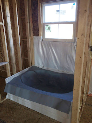 ryan homes soaking tub