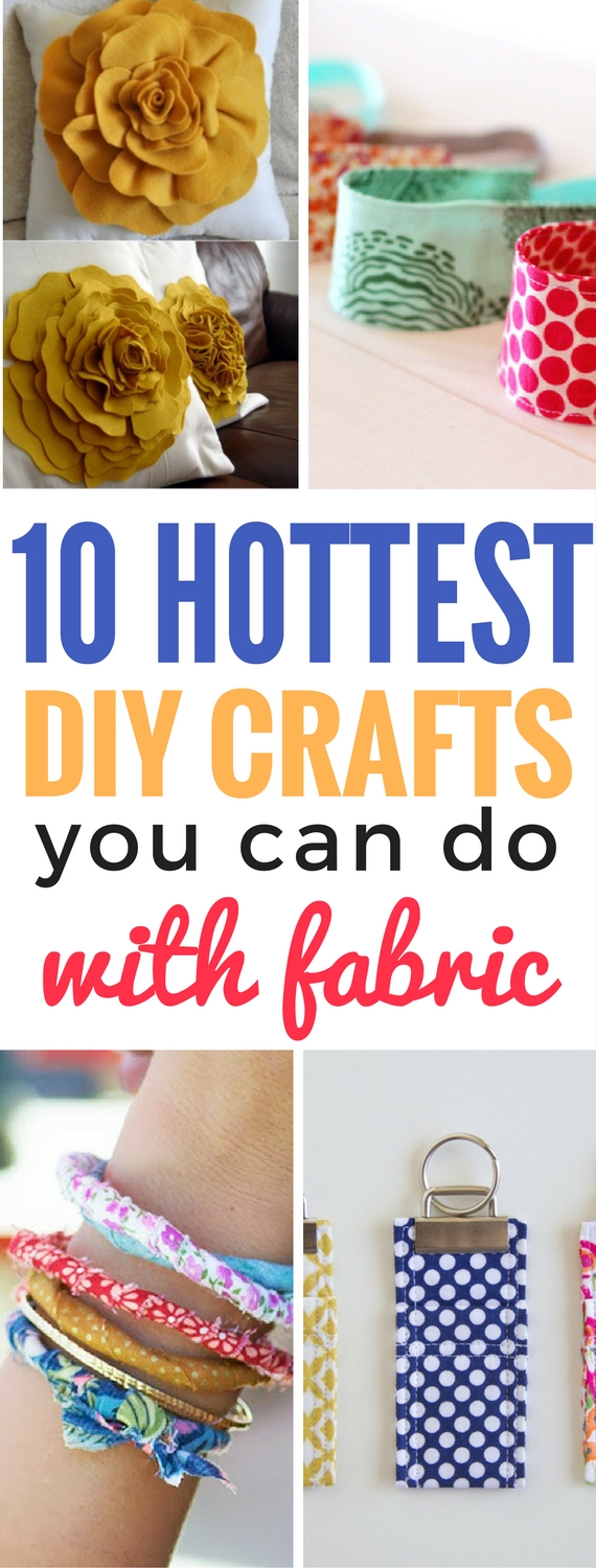 10 Diy Crafts You Can Do With Fabric Craftsonfire