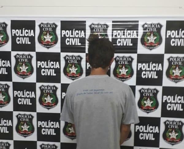 Assaltante preso em Papanduva