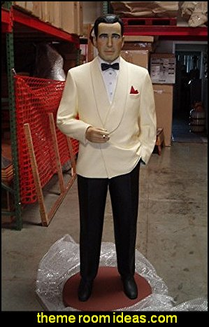 Humphrey Bogart Life Size Statue