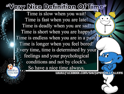 Very Nice Definition Of Time