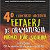 """[News] """"IV Concurso Nacional FETAERJ de Dramaturgia - PRÊMIO JOÃO SIQUEIRA"""" abre inscrições de 2 de abril a 5 de maio de 2019"""