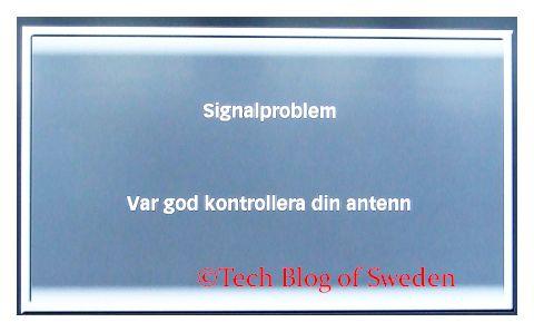 Bra signalstyrka dålig signalkvalitet