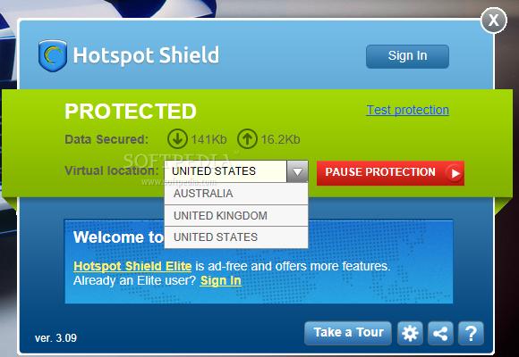 hotspot shield elite crack pc
