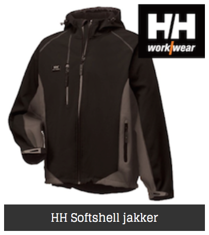 Helly Hansen softshell jakker