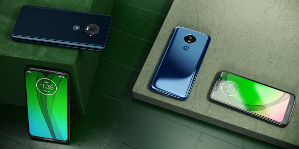 New Motorola Moto G7 series announced