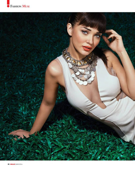 Wow! Amy Jackson Poses for Hi Blitz June 2016 Magazine