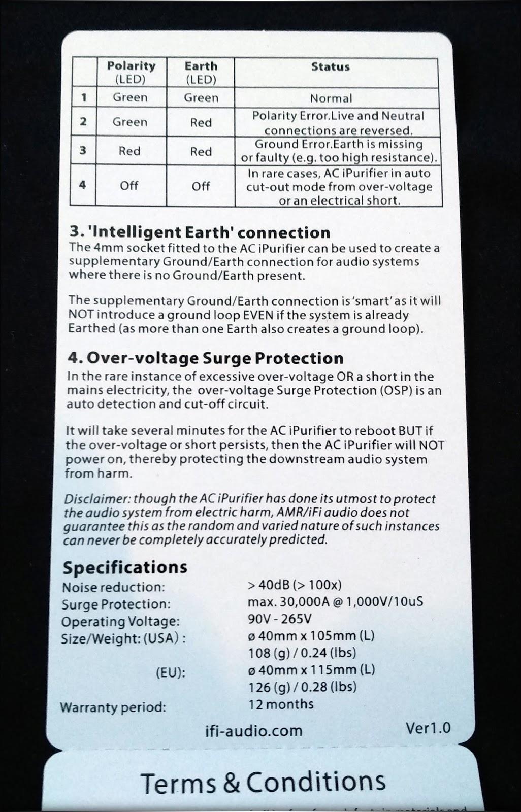 iFi audio AC iPurifier - Let no noise go unsilenced! | Page 8 ...