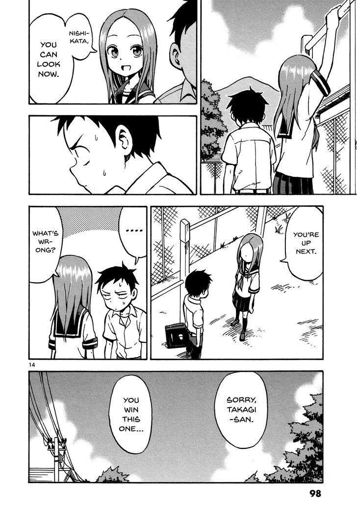 Karakai Jouzu no Takagi-san - Chapter 29