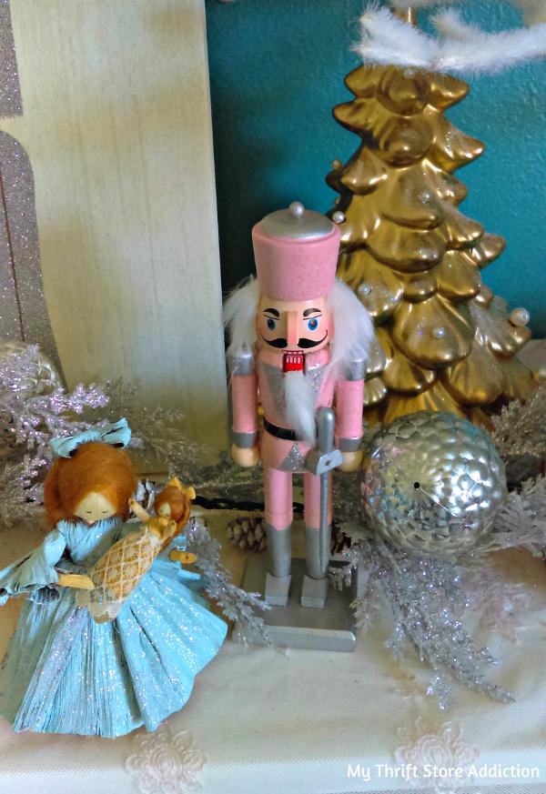 pastel Nutcracker Ballet mantel