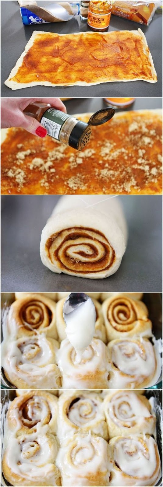 ★★★★☆ 1212 ratings   | Easy Mini Pumpkin Cinnamon Rolls  #Easy #Mini #Pumpkin #Cinnamon #Rolls