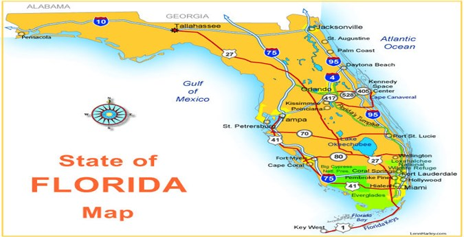 Map Of Florida Maps Of Cities - Where is florida