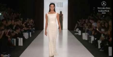 Ariella Arida in fashion show