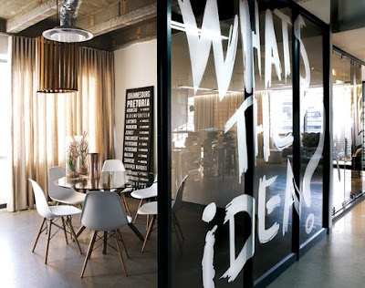 Mẫu thiết kế văn phòng làm việc theo phong cách mở