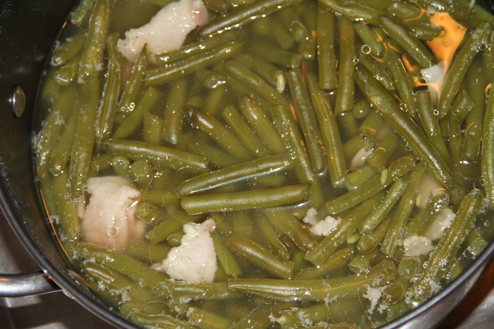 Old fashioned pole beans recipe 78
