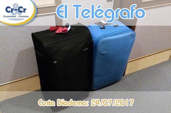 EL TELÉGRAFO - OCTAVO Y ÚLTIMO DÍA - COSTA DIADEMA 17/07/2017 AL 24/07/2017