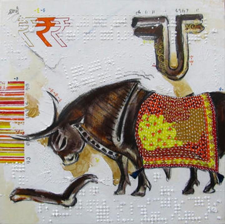Ramchandra Kharatmal. Художник из Индии 5