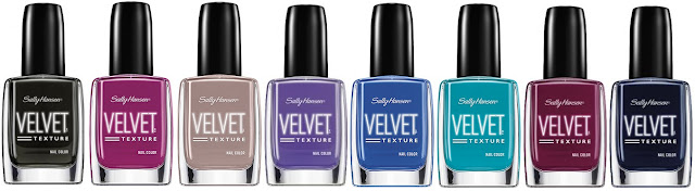 Sally Hansen Velvet Texture Collection - with swatches!