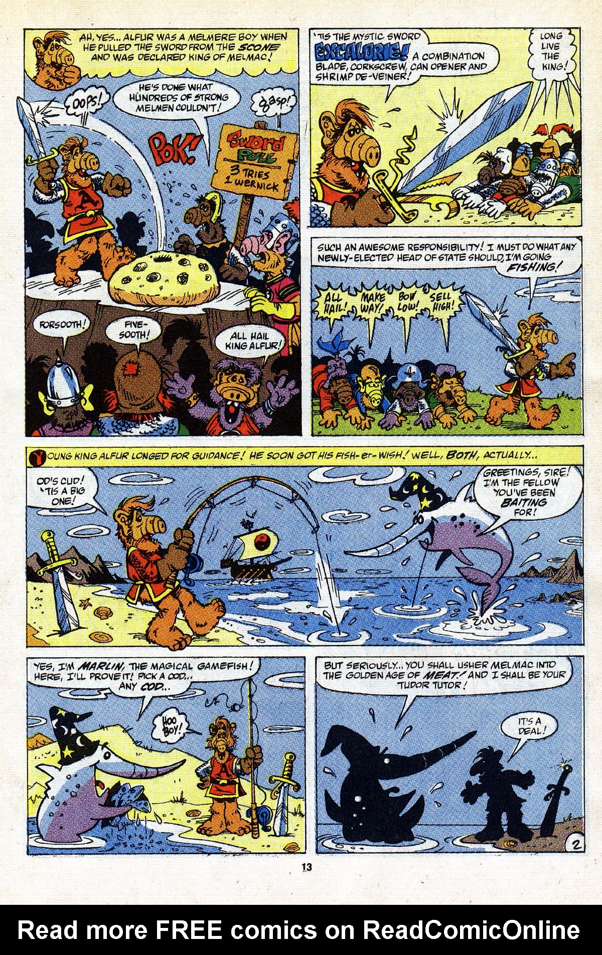 Read online ALF comic -  Issue #26 - 12
