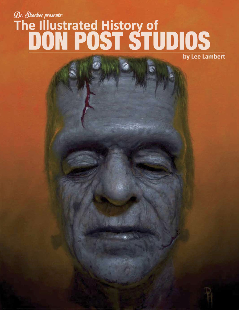 Illustrated History of Don Post Studios Book