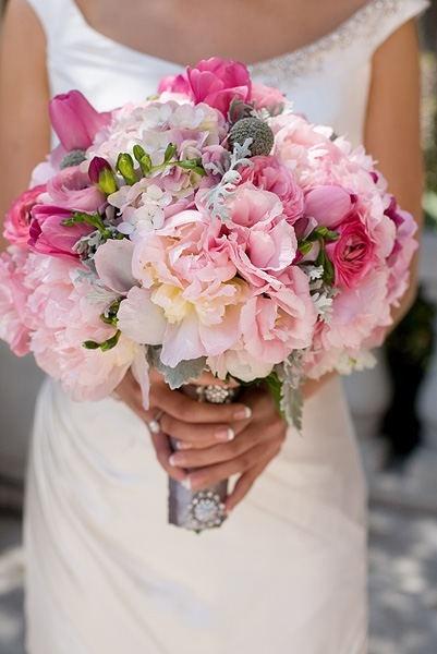 Glamorosos Bouquet para Novias Bodas