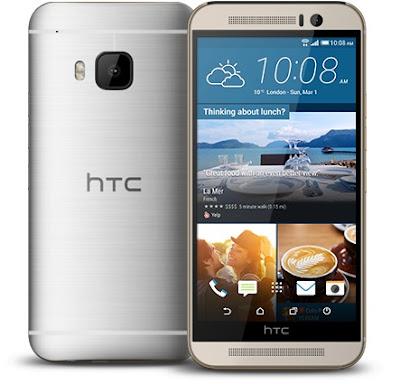 HTC One M9 sau khi đã được thay màn hình