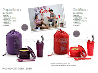Purple Blush dan Red Blush ~ Tupperware Promo Oktober 2016