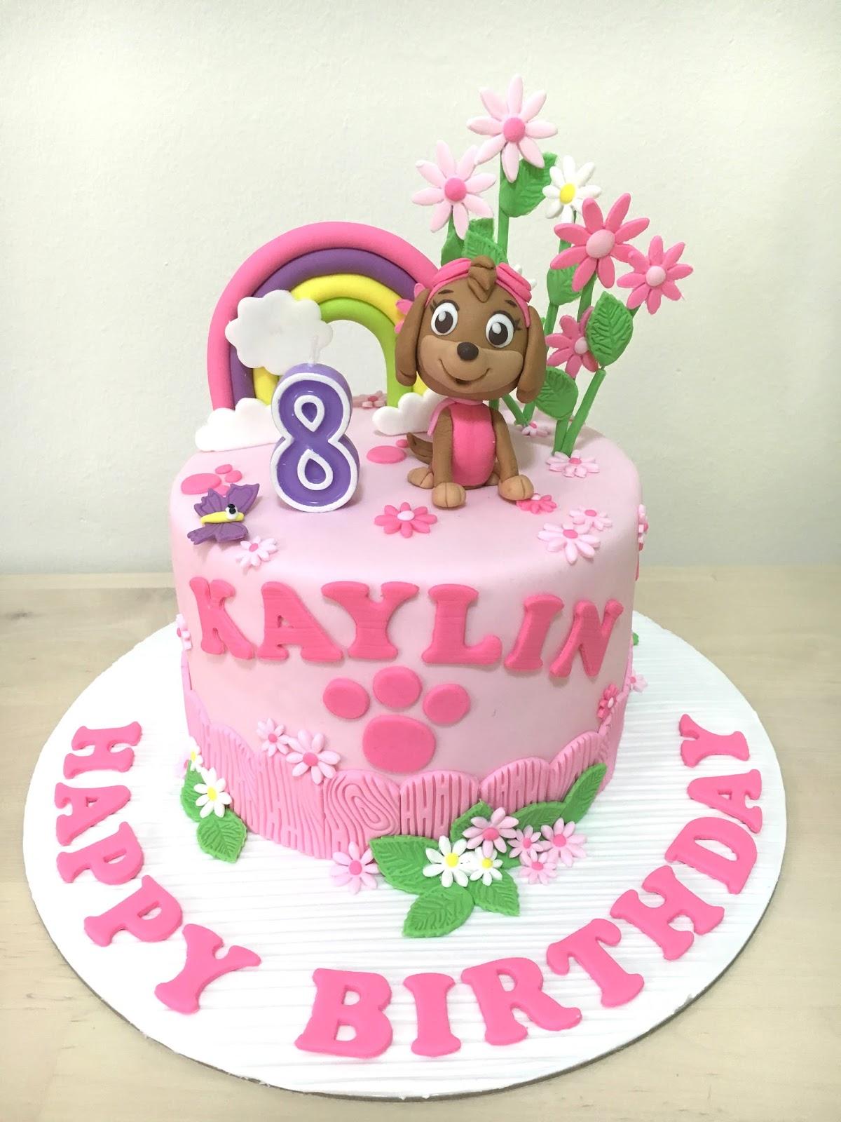 Oven Creations Happy 8th Birthday Kaylin