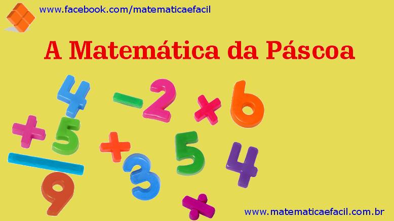 A Matemática da Páscoa