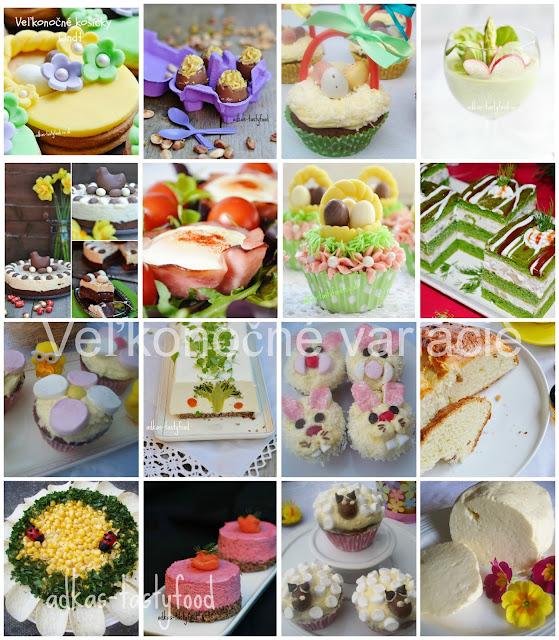 Veľkonočné variácie - obrázkový súhrn veľkonočných receptov