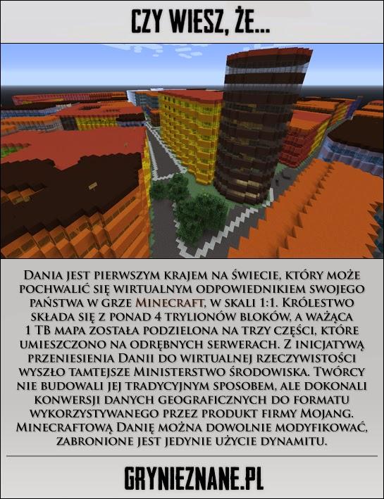 Dania To Pierwsze Panstwo Ktore Przeniesiono Do Gry Minecraft W