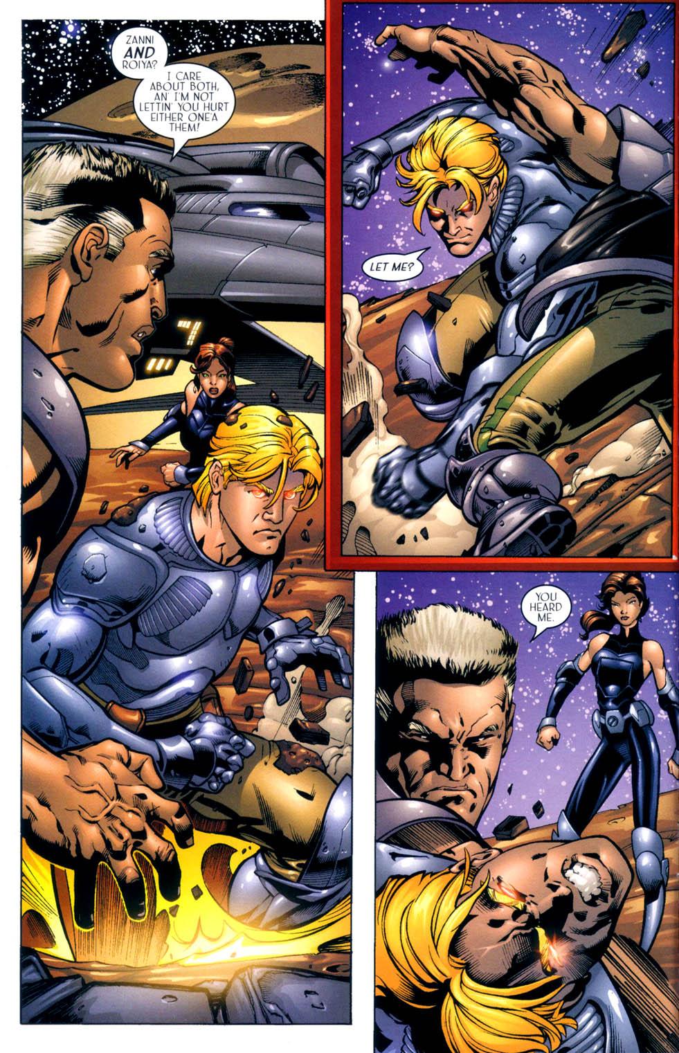 Read online Sigil (2000) comic -  Issue #10 - 20