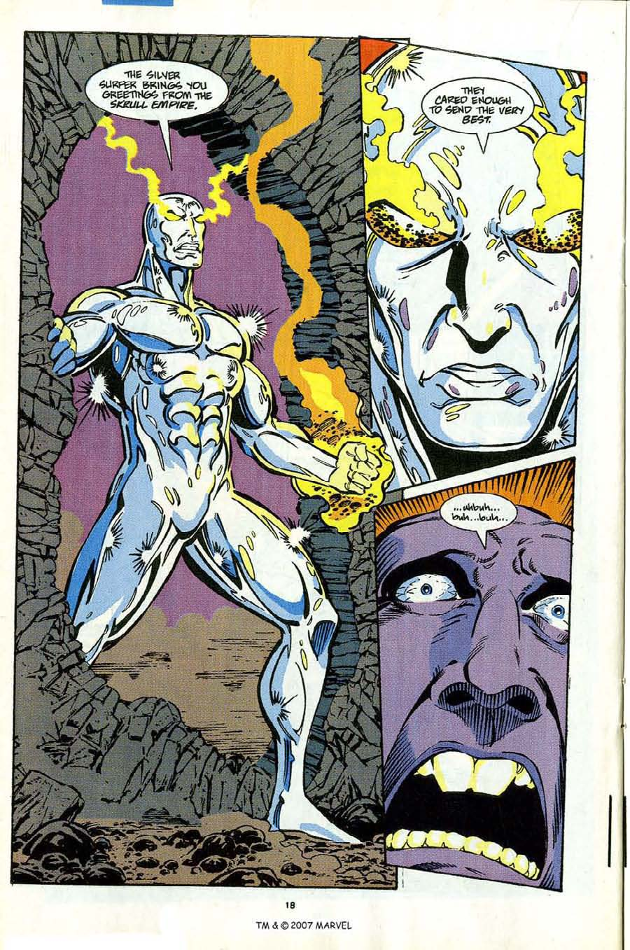 Read online Silver Surfer (1987) comic -  Issue #53 - 20