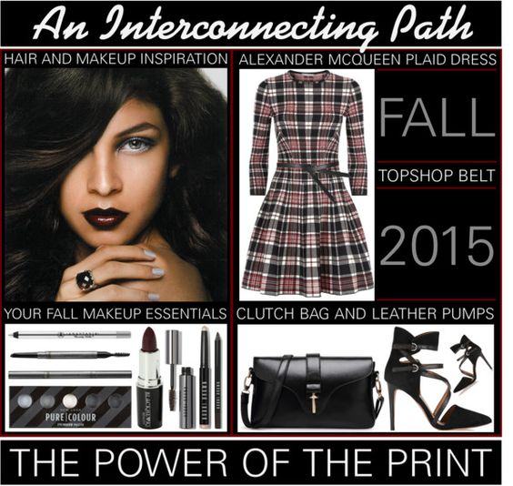 Plaid - The interconnecting Path In Fashion www.toyastales.blogspot.com #ToyasTales