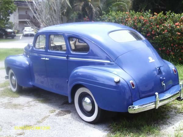 Daily Turismo: Blue Beast: 1940 Plymouth Road King Touring Sedan