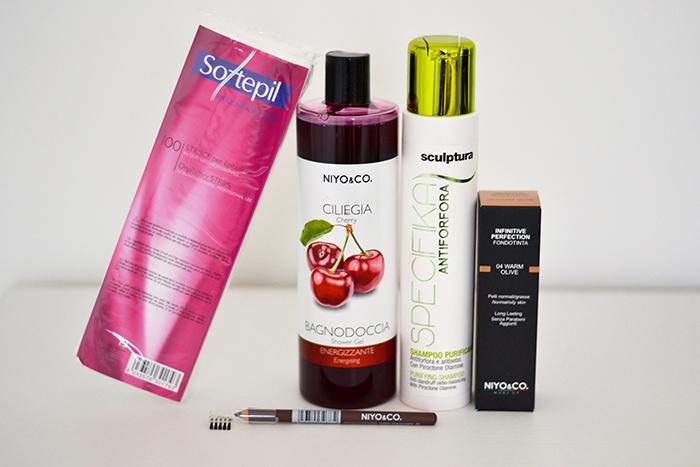prodotti beauty niyo and co