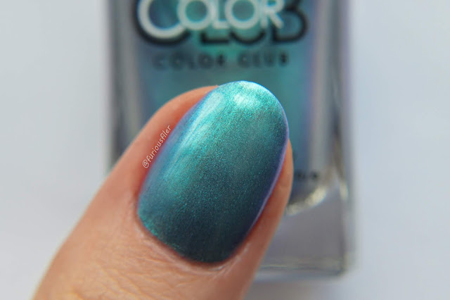 color club swatch hooked metallic colour shift